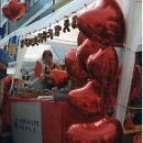 1997: Stand der Aidshilfe Köln am CSD