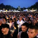 2005: Kerzenlichter gegen das Vergessen beim CSD