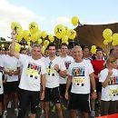 "2009: Erster Benefiz-Lauf ""Run of Colours"""