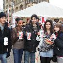 2009: Spenden sammeln am Welt-Aids-Tag