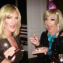 Das skurrilste Dinner: Marlene Deluxe serviert Vitaminpillen, zum Nachtisch gab's eine Botox-Infusion.