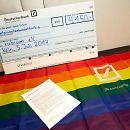 Galerie Rainbow-Network der Deutschen Bank-Spende für rubicon e.V. | Köln