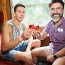 Galerie Gay Partytrain nach Amsterdam zur Pride 2019