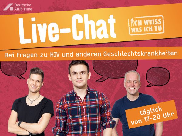 aids hilfe live chat inqueery. Black Bedroom Furniture Sets. Home Design Ideas